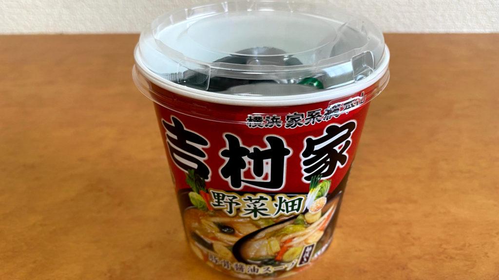旭松 家系総本山吉村家 野菜畑 豚骨醤油スープ